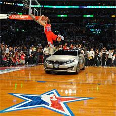 Blake Griffin. Campeón concurso de mates Allstar 2011