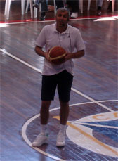 Zeljko Obradovic. Clinic Internacional Eurobasket 2007. Madrid. R.C.N. Canoe