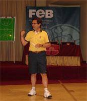 Mario Pesquera. I Master Táctica. FEB