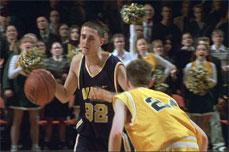 El niño o joven deportista que juega al baloncesto