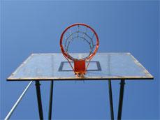 Canasta baloncesto, aro y red