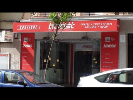 Boutique deportiva. Springboost Madrid