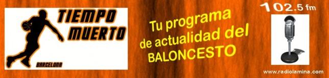Baloncesto. Tiempo Muerto en Radio La Mina
